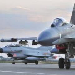 China sends fighter jets to patrol new air defense zone